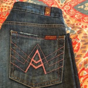 Women 7 for All Mankind jeans 28